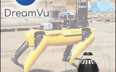 DreamVu human detection in the real world