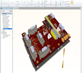 SolidWorks PCB design and routing