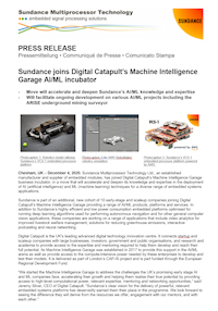 December 2020 – Sundance joins Machine Intelligence Garage