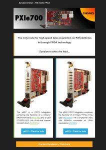 Sundance News – PXI meets FPGA – June 2017