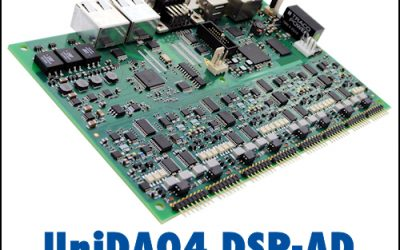 D.SignT's new UniDAQ4 processor board