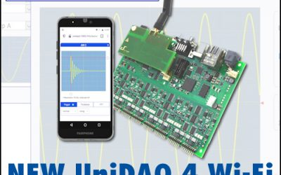 NEW Wi-Fi & SD-card interface for D.SignT's UniDAQ4 data acquisition system