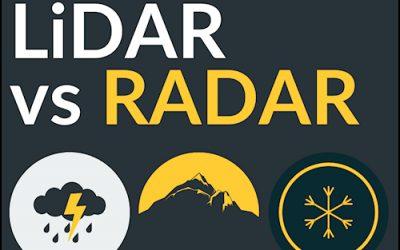 LiDAR vs RADAR